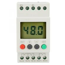 Voltage Protector Relay SVR1000 Single Phase Din Rail Over-Voltage Under-Voltage Protection Relay LED Display ad78s electrical relay used for protection relay over current relay overload relay