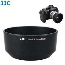 Jjc capa de lente de câmera reversível, baioneta, para olympus m. zuiko digital 45mm 1:1.8 lentes/m4518 substituir olympus LH 40B