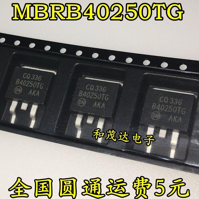 1 шт. новый оригинальный MBRB40250TG B40250TG 250V 40A TO-263 в наличии