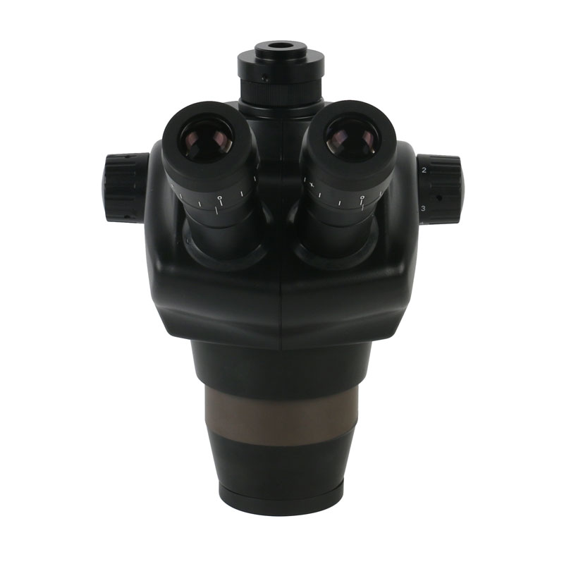 Quality 50X Microscope Focal Zoom Black Binocular 2020 Trinocular 8X Continuous Lab Confocal Magnification High Stereo Simul
