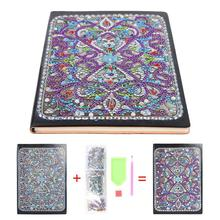 DIY Mandala Notebook Resin Diamond Personality Special Shaped Painting 50 Pages A5 Office Supplies