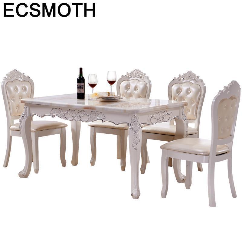 Manger Moderne Tavolo Set Eettafel Redonda Tisch Sala Eet Tafel Kitchen European Desk Tablo Comedor Mesa De Jantar Dining Table