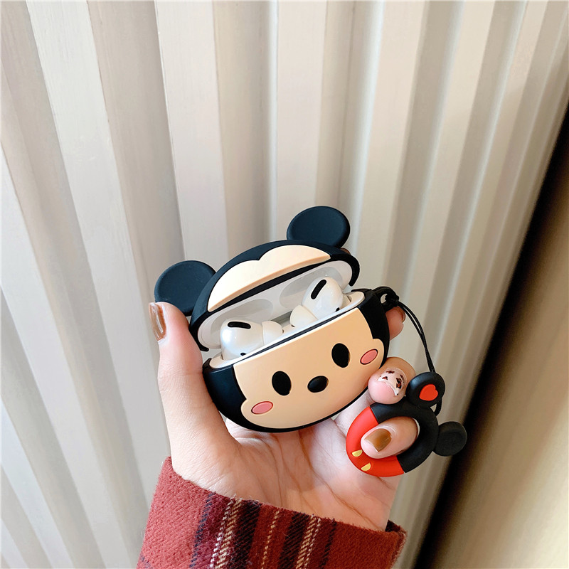 Cute 3D Silicone Case for AirPods Pro 24