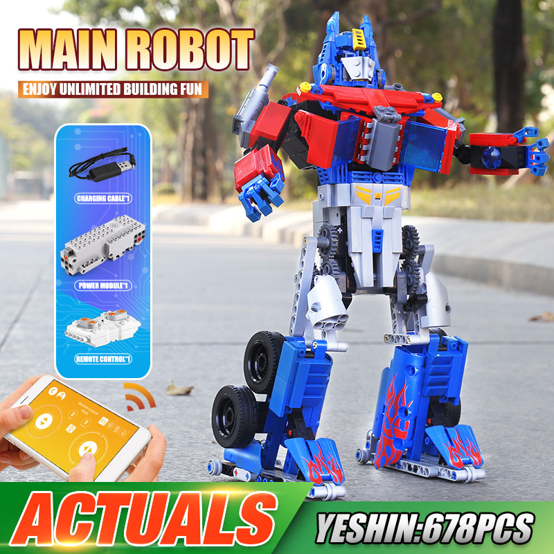 MOULD KING 15036 The APP RC Controlled Changing Robot Model