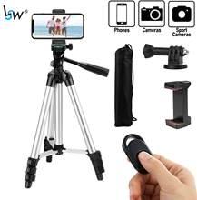 Stativ für Telefon 40 Zoll/102cm mit Fernbedienung & Telefon Halter, leichte Stative für Mobile Handy Smartphone Gopro Kamera