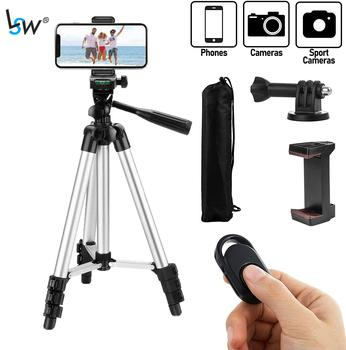 Tripod for Phone 42 Inch/106cm with Remote Control & Phone Holder, Lightweight Travel Tripods for phone/Camera