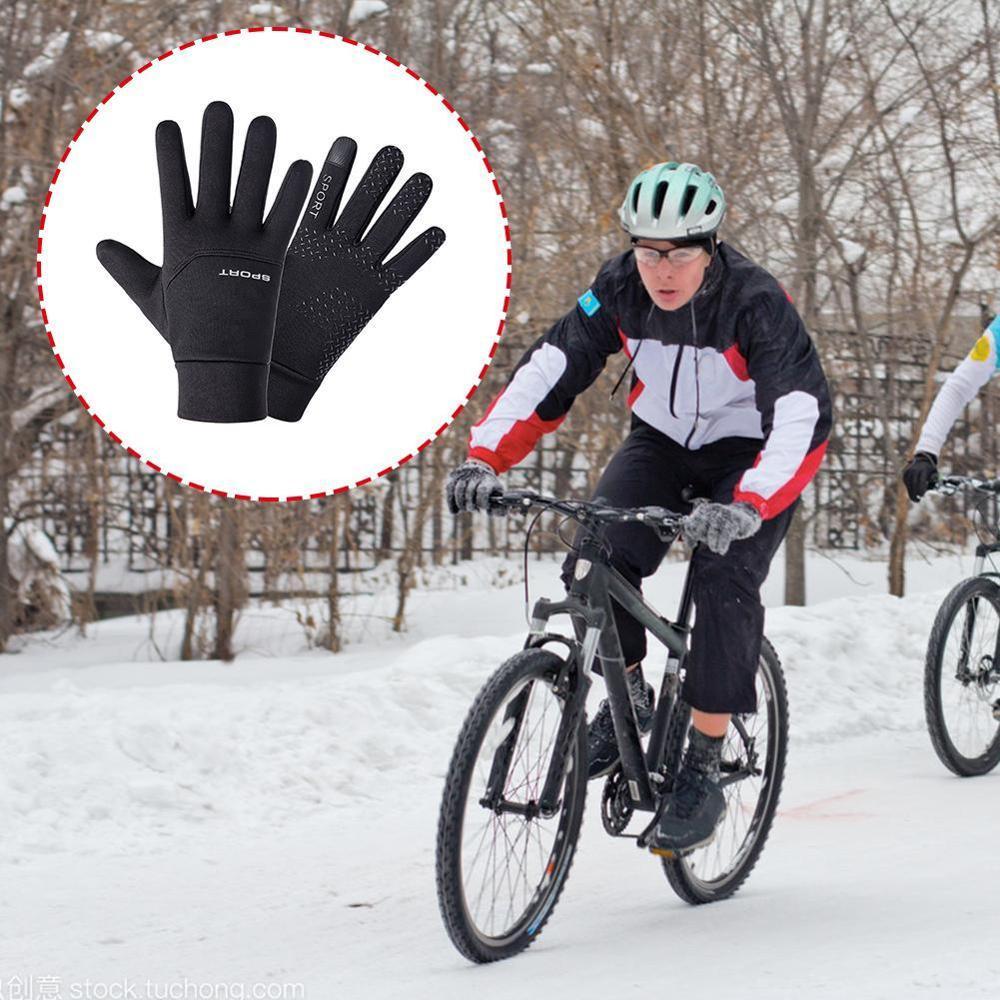 Motorcycle Waterproof Smart Heated Riding Gloves Unisex Electric Heat Winter Warm Sport