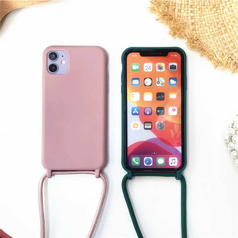 ZhuoFan Funda con Cuerda para Samsung Galaxy A51 4G//M60s Carcasa de Silicona Suave Case con Colgante Cordon Colgar Correa de Cuello para el tel/éfono Antichoque Bumper para M/óvil 6.5-Vacas