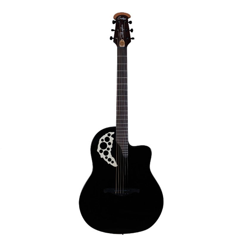 41 Inch Carbon Fiber Guitar 6 String Electric Guitar Picea Asperata Solid Guitar With Pick Up AGT187