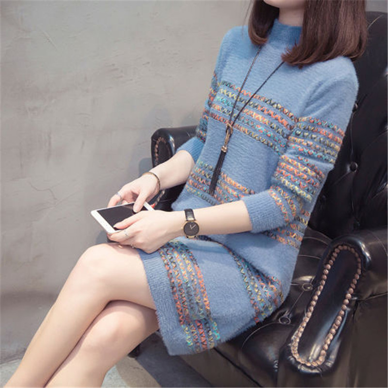 Women Sweaters And Pullover Autumn Sweater Female 2019 And Winter New Korean Version Of Lazy Wind Loose Chic Sweater Shirt
