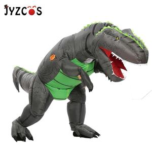 Image 2 - JYZCOS Dinosaur T REX Inflatable Costume for Women Men Kid Carnival Costume Halloween Cosplay Costume Mascot Party Purim Costume