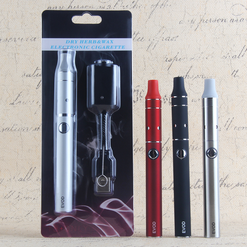 Kingfish Vaper Dry Herb Vaporizer AGO G5 Atomizer EVod 510 Thread Vape Pen Battery Blister Kit 1100mAh Smoke Tobacco