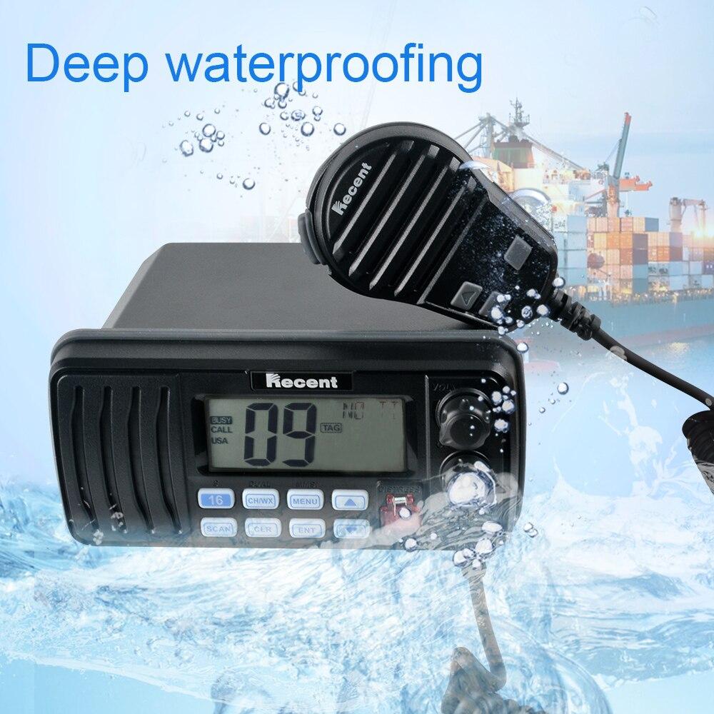 Scocotran High Power VHF Marine Transceiver IP67 Waterproof Marine Band Radio RS-508