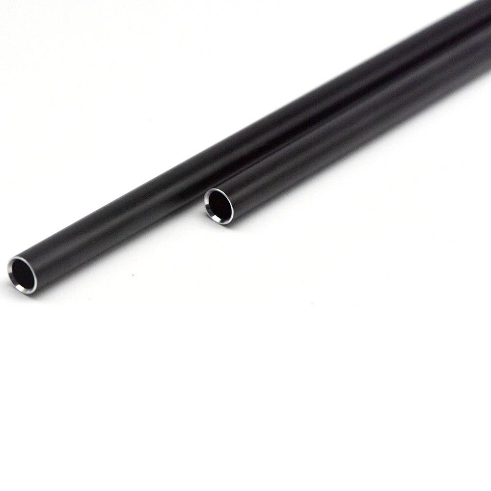 550*10*7MM Black Aluminium Alloy For Inner Barrel For Gel Ball Inner Tube For Gearbox Receiver Gel Blaster New AUG