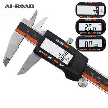 цена на Digital Vernier Caliper 6 Inch 0-150mm Stainless Steel Electronic Caliper Micrometer Depth Measuring Tools