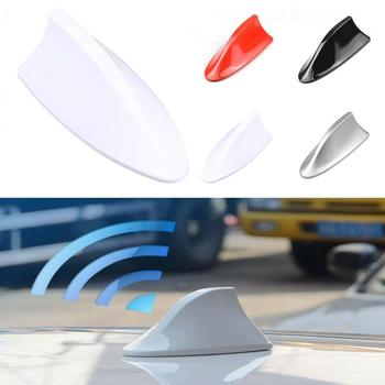 Upgraded Signal Universal Car Shark Fin Antenna Auto Radio Replacement FM/AM Roof Aerial For BMW/Honda/Toyota/Hyundai/Kia/e Y5F4 image
