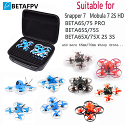 BETAFPV Backpack Carrying Case Blade Inductrix Storage Box with Foam Liner for Tiny Whoop Beta65MM 75MM Drone etc