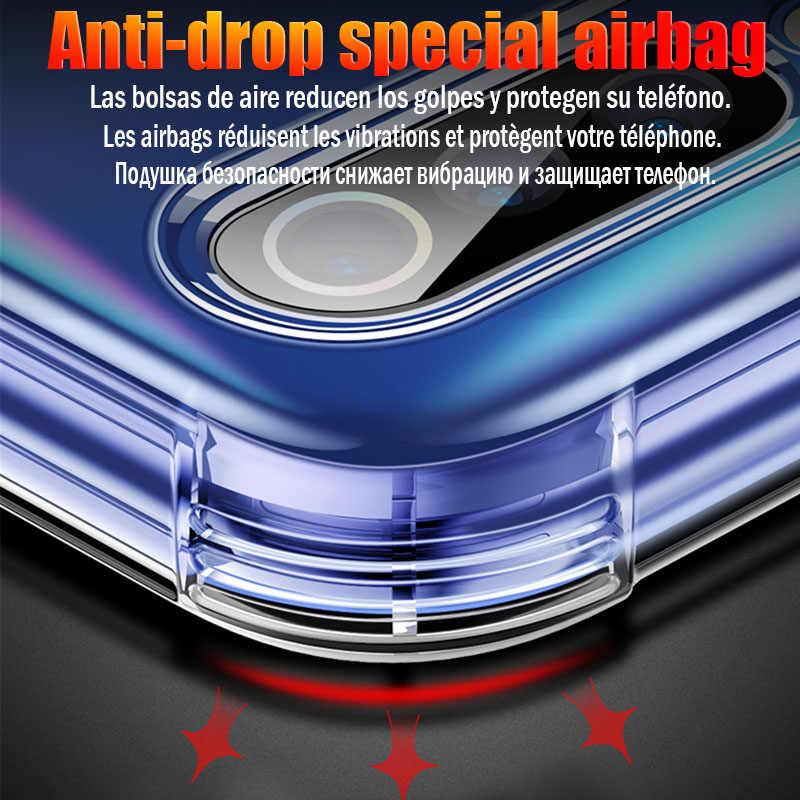 Мягкий силиконовый чехол из ТПУ для Red mi Note 7 Pro, чехол K20 5 6 6A для Xiaomi mi 9, ударопрочный чехол 9T 8 se mi X 2S 3 5X 6X A1 A2 Lite