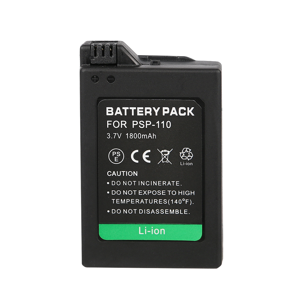 2PCS/Lot Original 2200mAh PSP-110 PSP110 Camera Battery For Sony Playstation PSP-110 PSP-1001 PSP 1000 1004 image