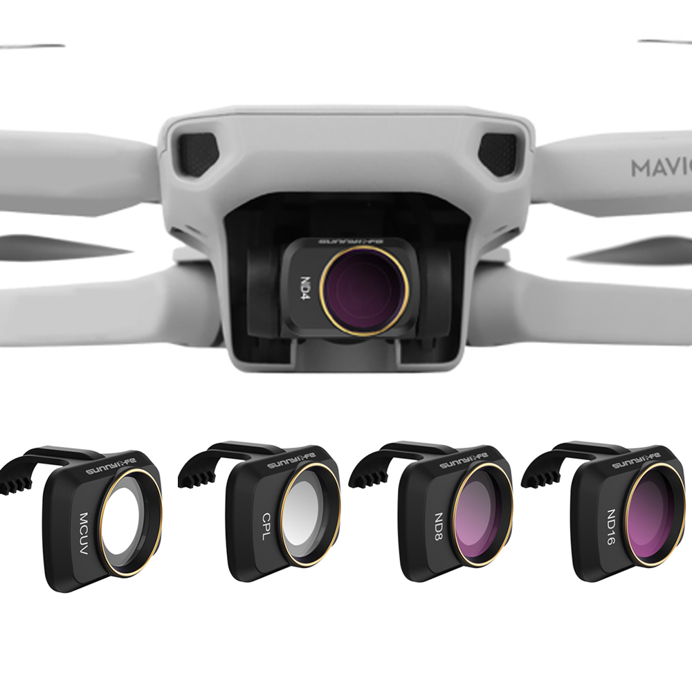 SUNNYLIFE Accessories For DJI Mavic Mini MCUV CPL Camera Professional Filter CPL ND8 ND16 ND32 Glass For MAVIC Mini Lens Filter