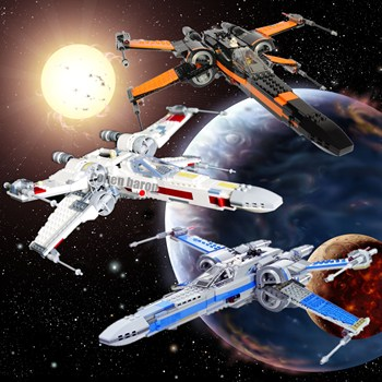 New First Order Poe's X-wing Fighter Fit  Star Wars Figures 75149 75102 75218 Model Building Blocks Bricks Toy Gift Kid my world figures tree toy building blocks model garden bricks toy gift for kid compatible with legoinglys minecrafted