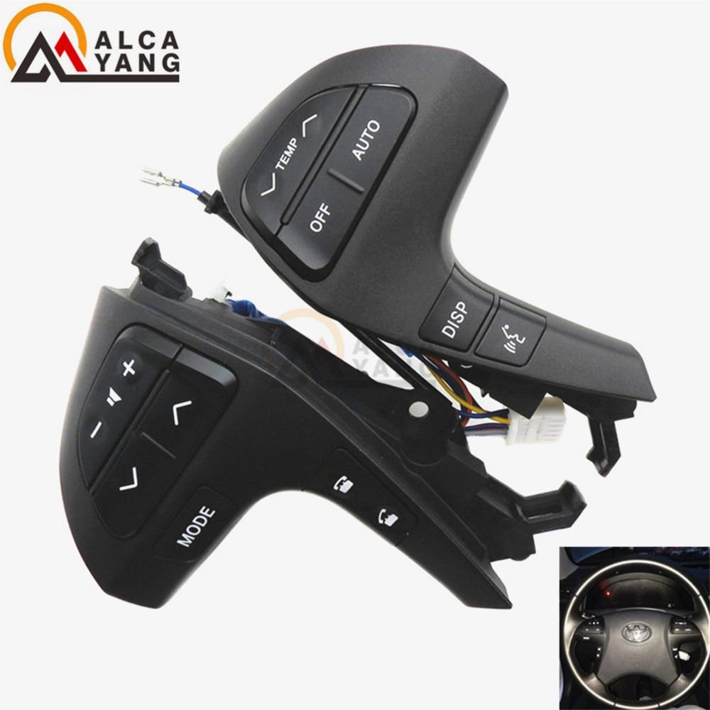 Buttons Bluetooth Phone For Toyota HIGHLANDER 84250 0E120 Wheel Audio Control Button 84250 0E220 84250 0K020|control button|toyota button|button toyota - title=