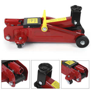 Oversea 2 Ton Hydraulic Floor Jack Portable Professional Auto Car Lifting Repair Tire Replacing Tool Electric Car Lifting