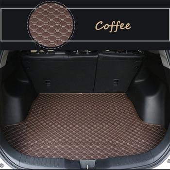 Flat Side Cargo Liner For Lexus UX series (2019-2020) car auto Car Trunk Mats Waterproof  Boot Carpets