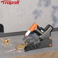 Máquina de eliminación de roedores A24 CO2, portátil, fácil, trampa para ratones y ratas, reinicio automático, con soporte