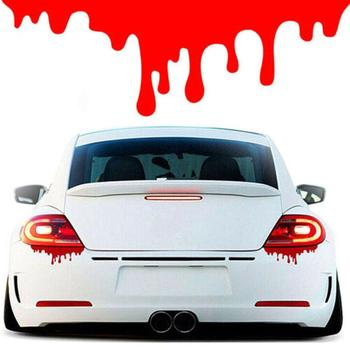 Reflective Red Murderous Taillights Bleeding Car Stickers Headlights Modified Car Stickers Motorcycle Stickers image