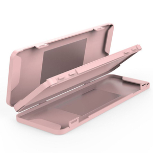 Portable Dustproof Moisture-proof Double-layer Storage Box Mask Case Temporary Storage Folder With Mirror Organizer Organizador