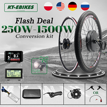мотор колесо для велосипеда велосипед электро колесо комплект для электровелосипеда электродвигатель на велосипед 350w электровелосипед на...