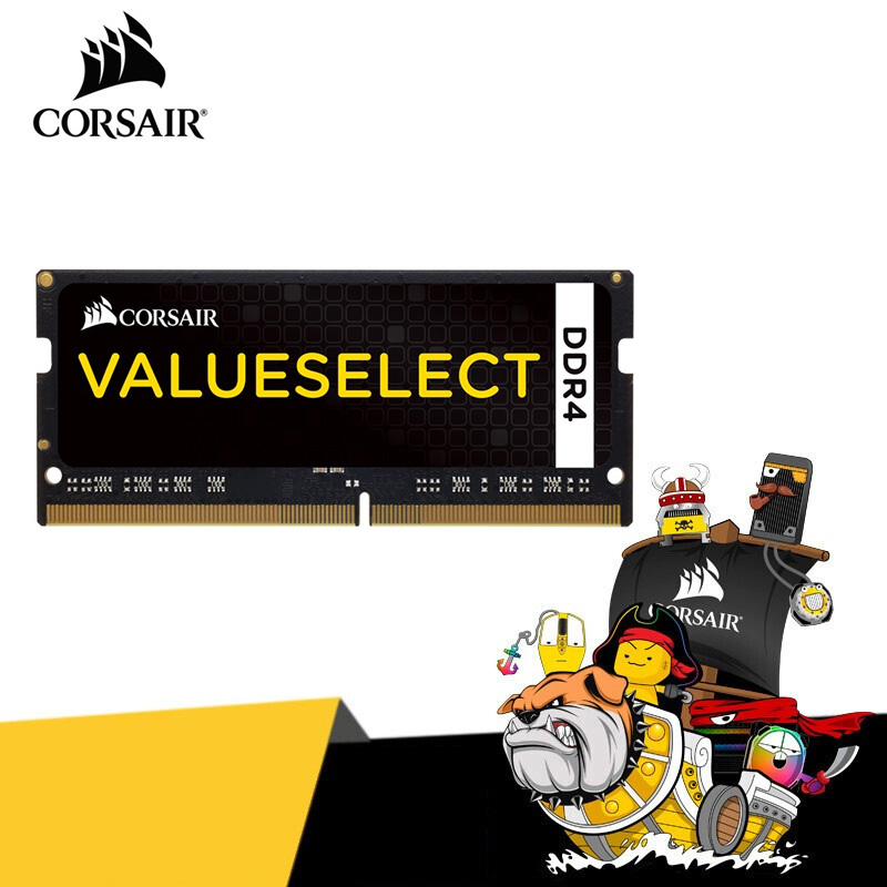 CORSAIR Vengeance <font><b>RAM</b></font> SODIMM DDR4 <font><b>8GB</b></font> 2666MHz Notebook Memory <font><b>ram</b></font> 260pin 1.2V CL18 PC4-21300 8G 16G 32GB for <font><b>laptop</b></font> image