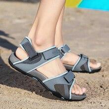 New Summer Men Shoes Classic Men Soft Sandals Breathable Roman Style Male Canvals Beach Sandals Water Shoes Large Size 46