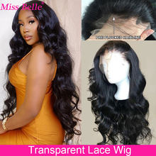 Cheap Body Wave Wig Transparent Lace Frontal Wigs Human Hair 28 30 Inch Brazilian Body Wave Lace Front Human Hair Wigs For Women