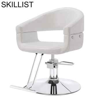 Sedia Sessel Schoonheidssalon Nail De Cabeleireiro Beauty Furniture Salon Cadeira Barbershop Barbearia Barber Chair - DISCOUNT ITEM  31% OFF All Category