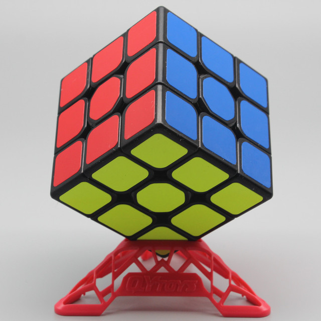Qiyi QiHang Sail W 3x3 Puzzle Speed Magic Cube Toys For Kids Intelligence Education 3x3x3 Cubo Magico Toys Black White Sticker 2
