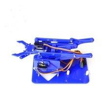 4 peças mecânicas do manipulador para a fabricação de peças diy kit