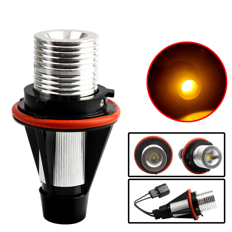 1Pc Error Free LED Flashing Angel Eyes Marker Halo Lights Bulbs For <font><b>BMW</b></font> E39 E53 <font><b>E60</b></font> E61 E63 E64 E65 E66 E87 525i 530i xi <font><b>545i</b></font> M5 image