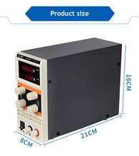 YAOGONG YG305D New 305D adjustable 30V 5A digital display adjustable DC regulated power supply mobile phone appliance repair adjustable dc power supply zhaoxin ps 305d 30v 5a 110 220v adjustment