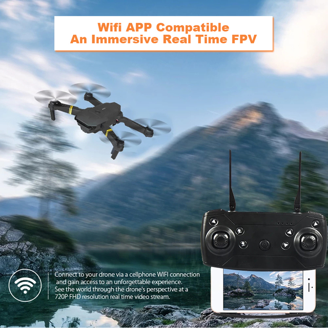 EMOTION DRONE 2.0 in-built 4k HD Professional Camera with Bag 3