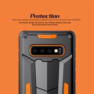 Image 5 - Funda protectora Nillkin, carcasa protectora para teléfono de capas, carcasa trasera para Samsung Galaxy S10 Plus S9 S8 Plus Note 9/8/Note FE Hybrid