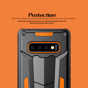 Image 5 - Nillkin Defender Case Ⅱ Layers Phone Protective Cover Back Shell For Samsung Galaxy S10 Plus S9 S8 Plus Note 9/8/Note FE Hybrid