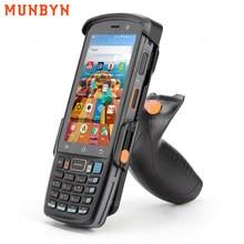 Munbyn Handheld Pda Android 9.0 2D Zebra SE4710 Barcode Scanner 4G Wifi Pos Termimal Qr Codes Reader Data Collector pistol Grip