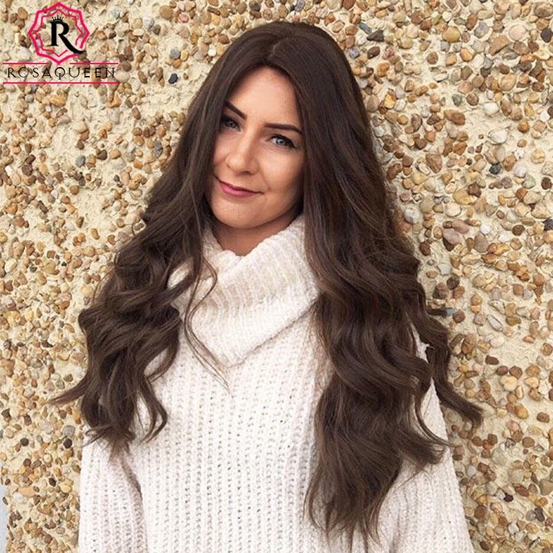 Rosa Queen Kosher Jewish Wig European Virgin Hair Wig Double Drawn Natural Silk Base Wig Silk Top