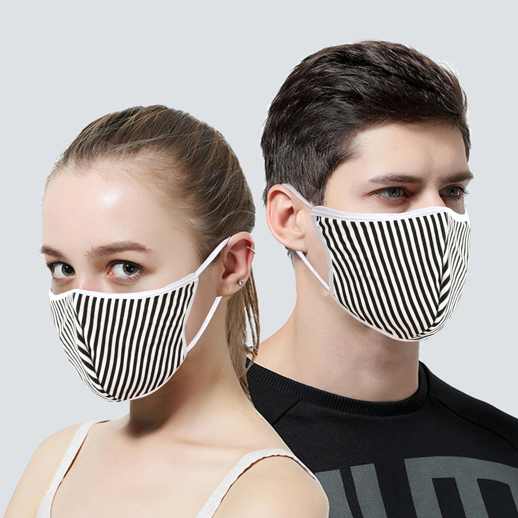 H6c484ec59ab54ab6ab872e1be816e236T In Stock Men Women Adult Outdoor Print Washable Print Breathable Face Cotton Mouth Reusable Earloop Mouth-muffle Health Care