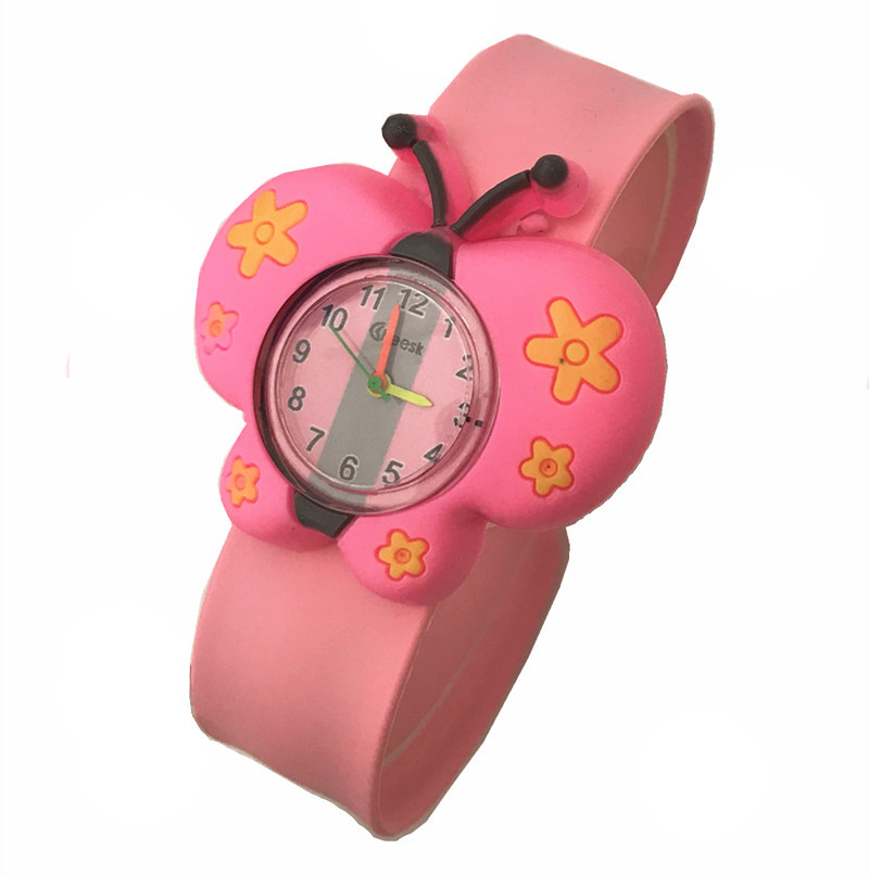3D Cartoon Kids Wrist Watches Baby Clock Quartz Watches Children's Watches Baby Watch For Girls Boys Gifts