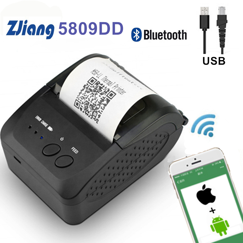 Impresora portátil térmica de bolsillo Bluetooth de 58mm, impresora térmica de recibos para teléfonos Android iOS, impresora de facturas de Windows Einkshop 1pc para hermano J430 cabezal de impresión para Hermano, 5910, 6710, 6510, 6910 MFC-J430 MFC-J725 MFC-J625DW MFC-J625DW cabeza de impresión