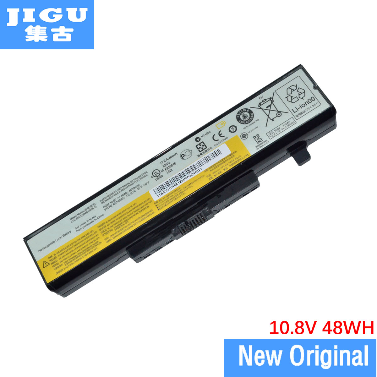 JIGU Original laptop Battery For <font><b>Lenovo</b></font> <font><b>V580</b></font> V580C Y480 Y480P Y485 Y580 Y580A Z380 Z480 Z485 Z580 Z585 V480S V480u image