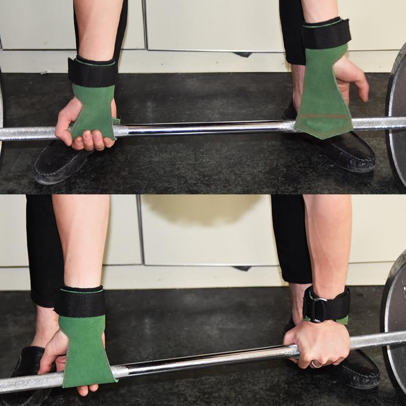 Спортивные тренировки на запястье для Фитнес запястья перчатки усилитель полоса наручные протектор тяге противоскользящие теплые Тяжелая...